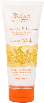 Anherb Lemon and Turmeric  Face Wash