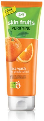 Joy Skin Fruits Purifying Face Wash for Pimple Control 65ml Each - (Pack of 2) Face Wash