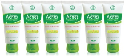 Acnes Creamy Wash (Pack of 6) Face Wash