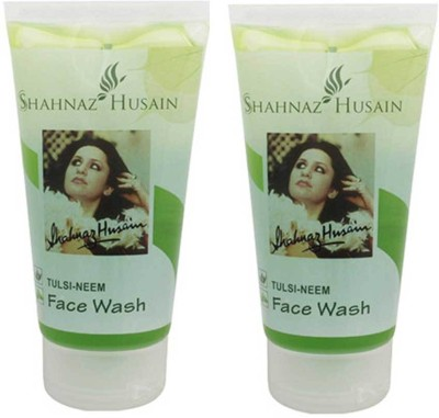 Shahnaz Husain Tulsi-Neem 50 Gm(Pack of 2) Face Wash