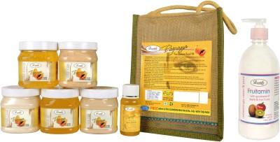 Luster Papaya Facial Kit - Eco Pack 2600 ml