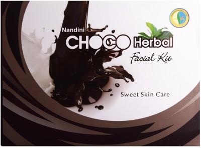 Nandini Herbal Care Choco Herbal Facial Kit 370 g
