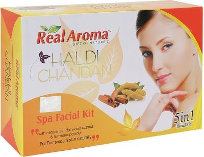 Real Aroma Haldi Chandan Spa Facial Kit 740 g
