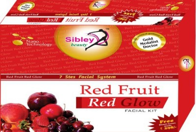 Sibley Beauty Red Fruit Red Glow Facial Kit 340 g