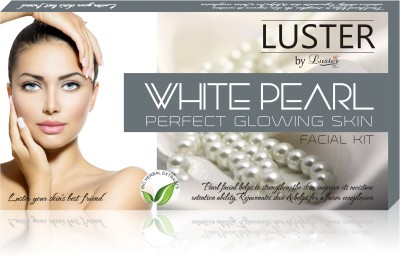 Luster White Pearl Facial kit For Perfect Glowing Skin (New pack) 175