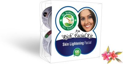 Dr. Sridevi's Ayu ,Rich, Skin Lightening Facial Kit 200 g
