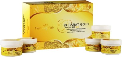 Herbal Tree 24CT Gold Facial Kit 420 g