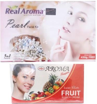Real Aroma Pearl Facial Kit 740 g