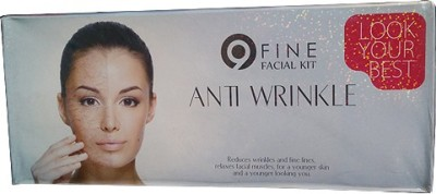 9Fine Anti Wrinkle Facial Kit 270 g