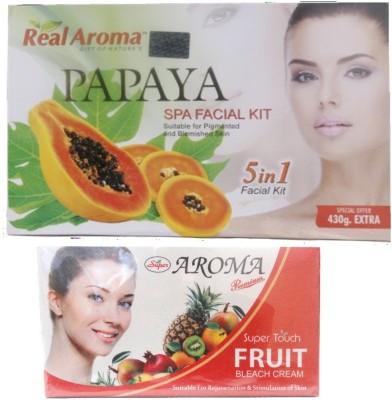 Real Aroma Anti Pigmentation & Blemished Skin Facial Kit 740 g