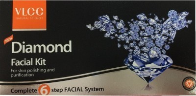 VLCC Diamond Facial Kit 4 45g+5M 45 g(Set of 4)