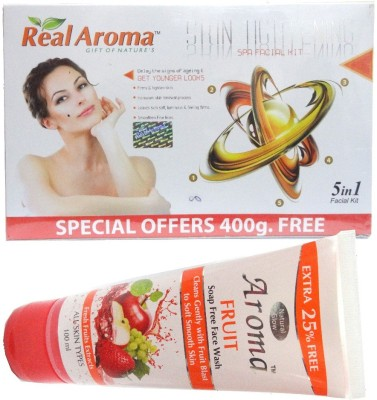 Real Aroma Skin Tightening Facial Kit 5-in-1 740 g