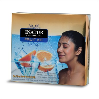 Inatur Herbals De-Tan Fruit Facial Kit 210 g