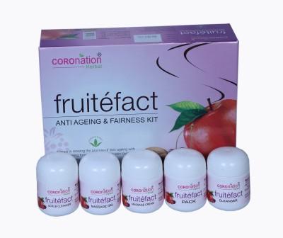 Coronation FRUITEFACT Anti Ageing & Fairness Kit 220 g
