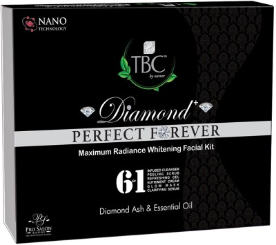 TBC by Nature Diamond Maximum Radiance Whitening Facial Kit 250 gm