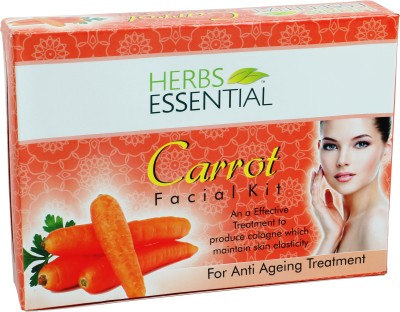 Herbs Essential Carrot Facial Kit 105 g