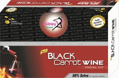Sibley Beauty Black Carrt Wine Facial Kit 139 g