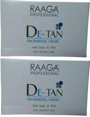 Raaga Professional De-Tan Tan Removal Cream With Kojic and Milk 72 g