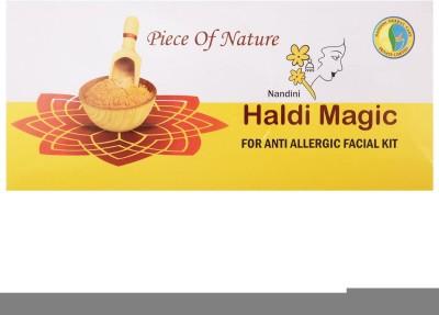 Nandini Herbal Care Haldi Magic Anti Allergic Facial Kit, 130g 130 g