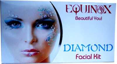 Equinox Diamond Facial Kit 250 gm