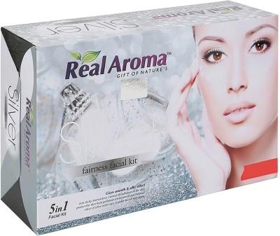 Real Aroma Silver Fairness Facial Kit 740 g