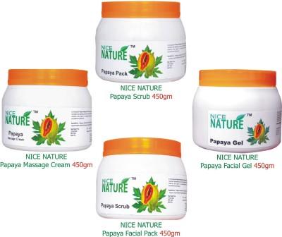 Nice Nature Papaya Facial Kit Parlour Pack 1800 g