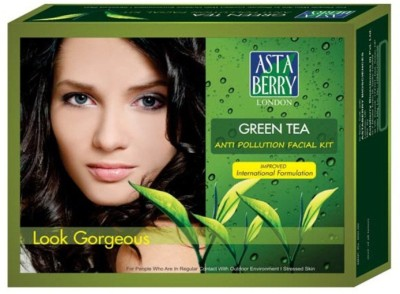 Astaberry Green Tea Facial Kit 500 ml