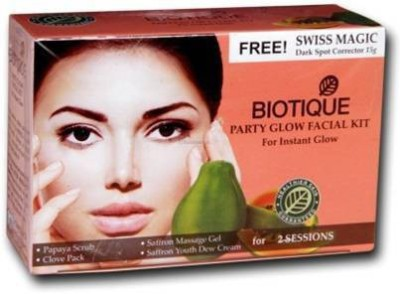 Biotique Party Glow Facial Kit For Instant Glow(set of 4) 230 g