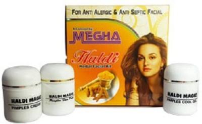 Megha Haldi Magic Facial Kit 130 g