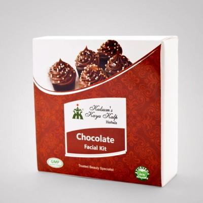 Kulsum's Kaya Kalp Chocolate Facial Kit 65 g