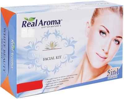 Real Aroma White Beauty Facial Kit 740 g
