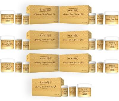 Richfeel Luxury Gold Bleach Kit 28 g (Pack Of 7) 196 g