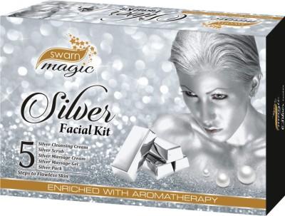 Swarn Magic Silver Facial Kit 350 g