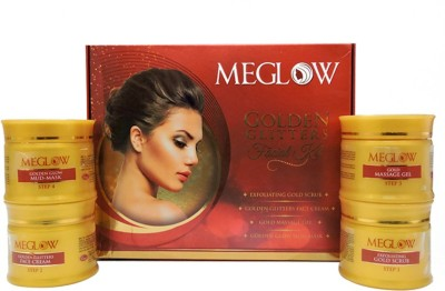 Meglow Golden Glitters Facial Kit 205 g