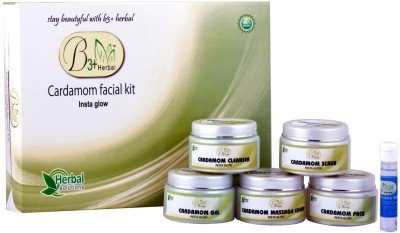 B 3+ Herbal Cardamom Facial Kit 300 g