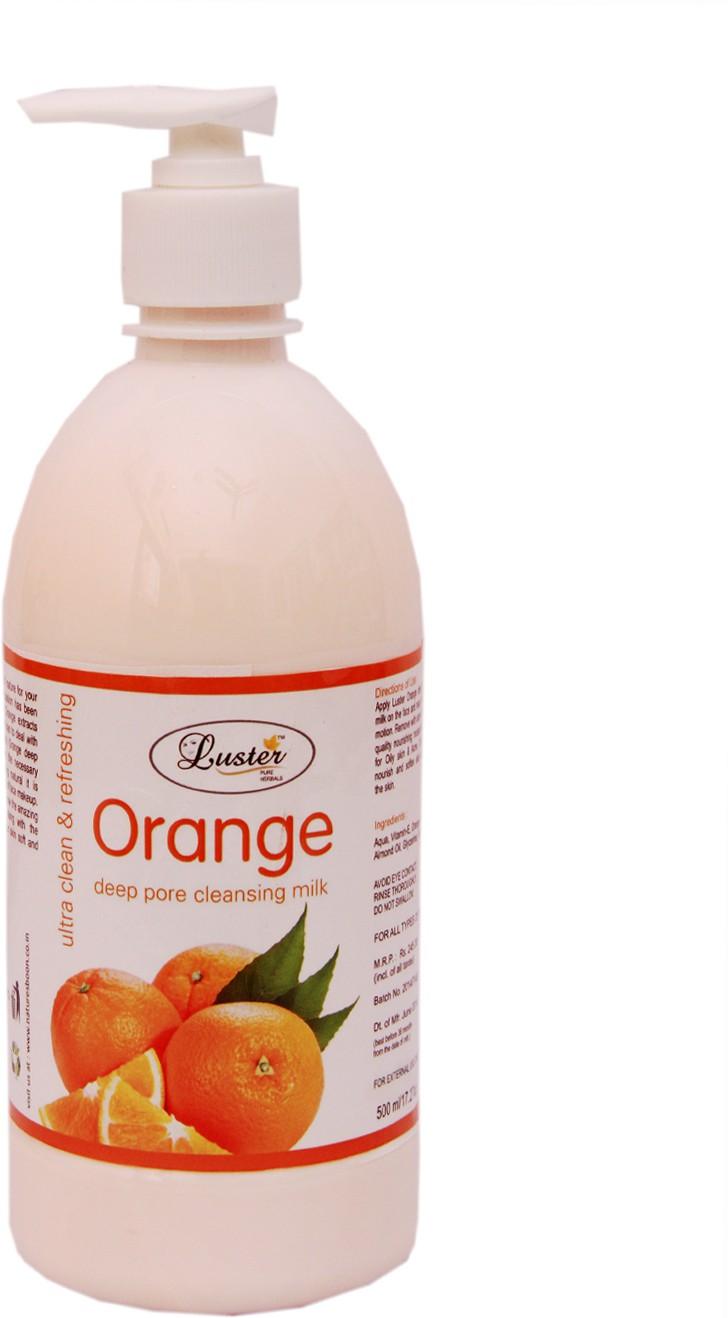Luster Orange Cleansing Milk(500 ml)