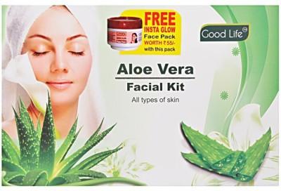 Good Life Aloe Vera Facial Kit. 250 g