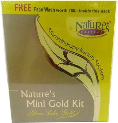 Nature,S Essence Mini Gold Facial Kit 56 g(Set of 5)
