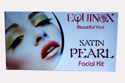 Equinox Satin Pearl Facial Kit 250 gm