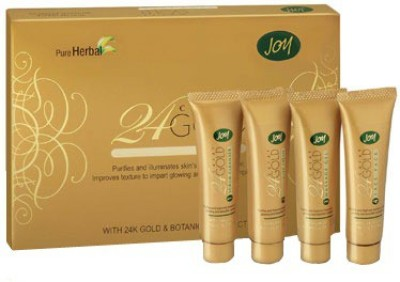 Joy Pure Herbal 24 Carat Gold Facial Glow Kit 55 g