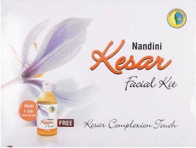 Nandini Herbal Care Kesar Facial Kit, 370g + 27ml 400 g