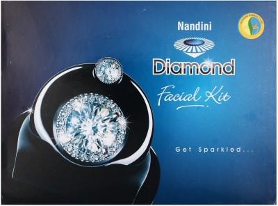 Nandini Herbal Care Nandini Diamond Facial Kit, 370g 370 g