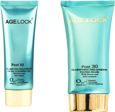 AgeLock Post 30 Clarifying Cleansing GeL + Facila Mask 100 ml