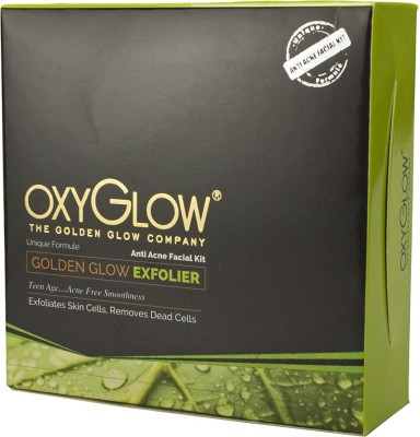 Oxyglow Golden Glow Radiance Anti Acne Facial Kit 155 g