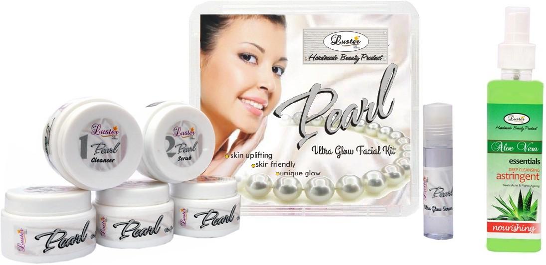 Luster Pearl Facial Kit (Skin Glow & Fairness) 285 g(Set of 1)