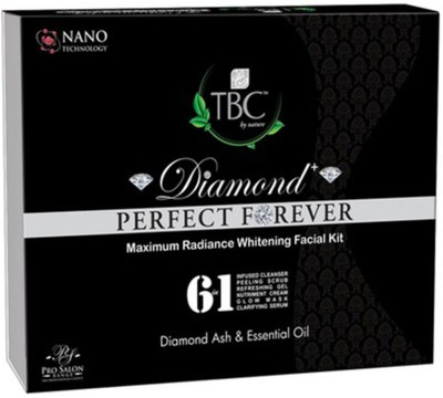 TBC by Nature Diamond Perfect Forever Maximum Radiance Whitening Facial Kit 260 g