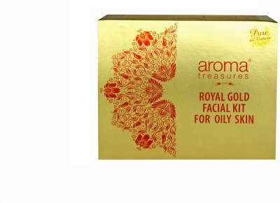 Aroma Treasures Royal Gold Facial Kit for Oily Skin 225 g