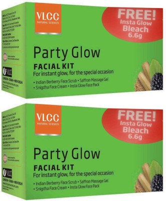 VLCC Party Glow Facial Kit Pack of 2 93 g