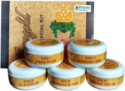 Priority Herbals Gold Facial Kit 250 g