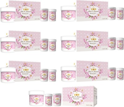 Richfeel Lily And Jasmine Bleach Kit 28g (Pack Of 7) 196 g(Set of 1)